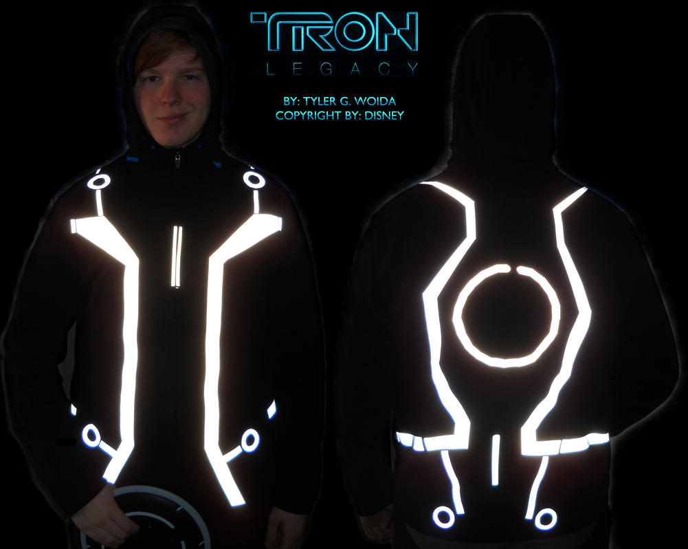Tron Legacy Jacket Wip 2 By Hynmayproductions On Deviantart
