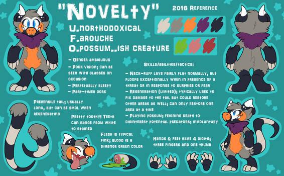 Novelty Reference 2016