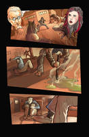 misc comic pages by Ommega