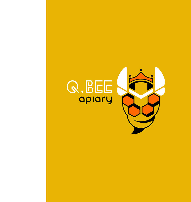 Logo Queen Bee Apiary by M41C0N on DeviantArt
