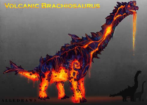 Volcanic Brachiosaurus