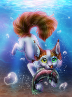 Wavepaw diving by Chaseya