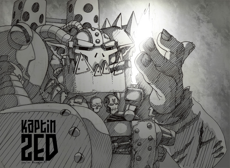Kaptin Zed by jonwkroeger
