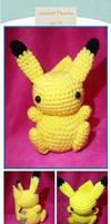 Crochet Pikachu Amigurumi (Pokemon)