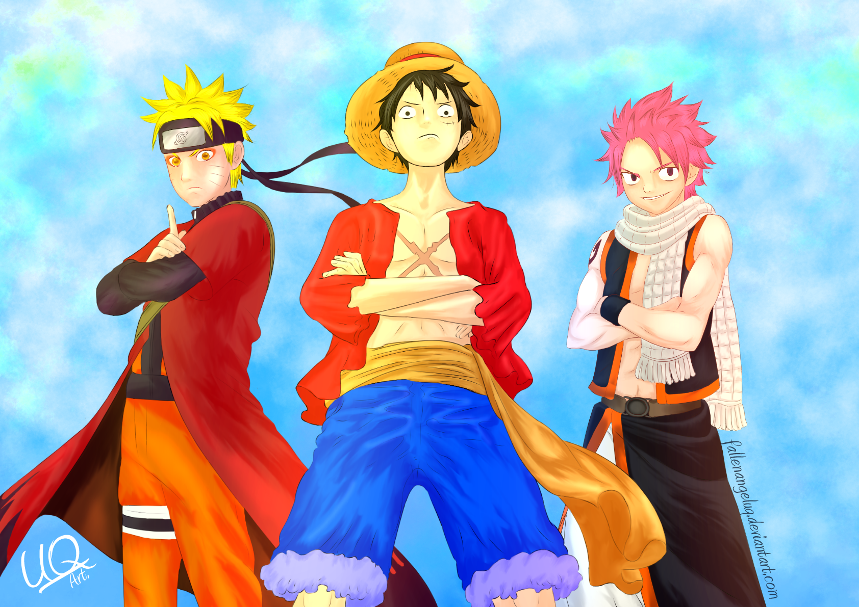 Anime Wallpaper Naruto Onepiece Fairy Tail By