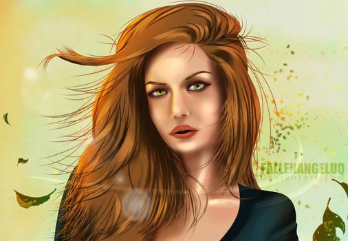 Wind through the hairs