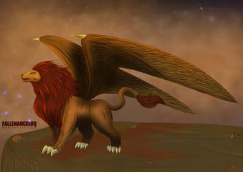 Mentorian Griffin Mythical Creature