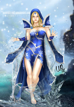 Rylai Crystal Maiden Dota 2 FanArt
