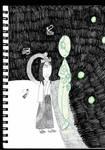 The Moon Princess and the Stitchpunk Spirit by StitchpunkGem