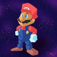 Mario 64 by JR-Jayquaza