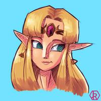 Zelda by JR-Jayquaza