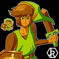 NES Link by JR-Jayquaza