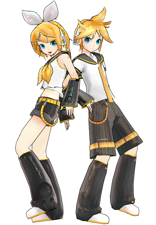 Project Diva Mamama-P Kagamine Rin and Len by haritsfarizi ...