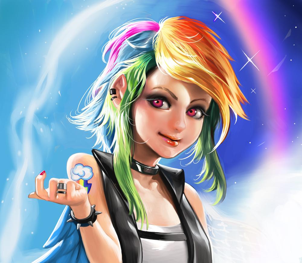 Rainbow Dash by Sinobilante on DeviantArt