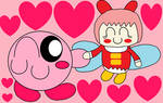 KirbyXRibbon(for rorosilky5)