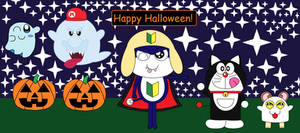 The Halloween Gang is there! (Halloween 2015)