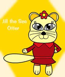 Sunshine Rewritten - Jill the Sea Otter by SuperAwesomeHamtaro