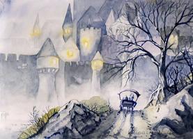 Moody Castle by Alina-Kurbiel
