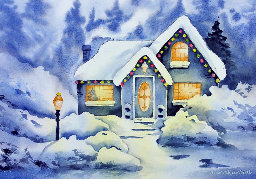 White Christmas by Alina-Kurbiel