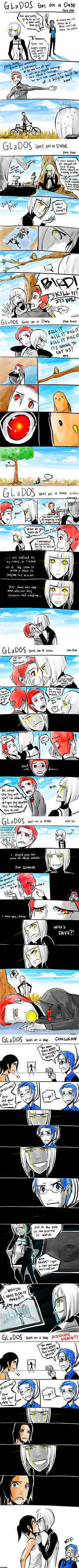 GLaDOS goes on a date by did-you-reboot