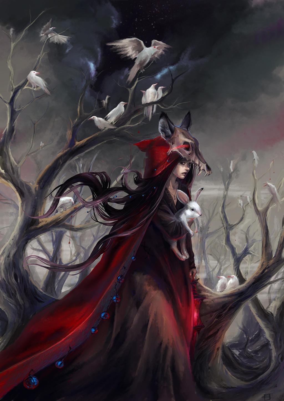 Red in Sad by AliceRose
