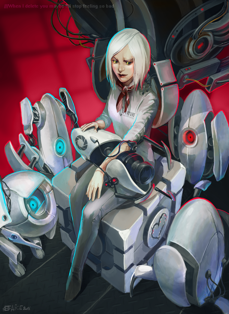GLadOs not alone by AliceRose