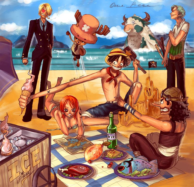 Bekannt One Piece fanart - ICE piece by AliceRose on DeviantArt TP08