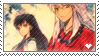 Inuyasha Stamp by lonehuntress
