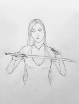 Angela sketch