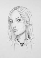 Angela portrait by Agethis