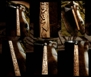 Decorated Mammen Axe