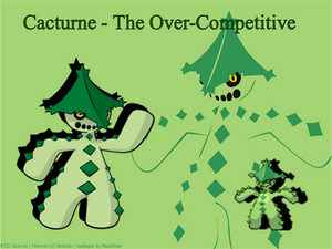 TPP Character Picture - Cacturne