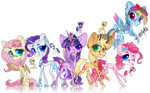 Mlp redesign - The mane six