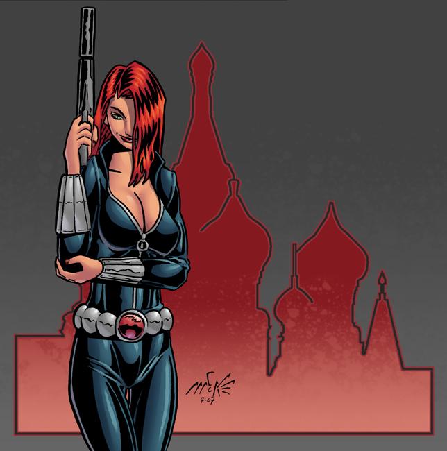 Chicas de Marvel: Viuda Negra