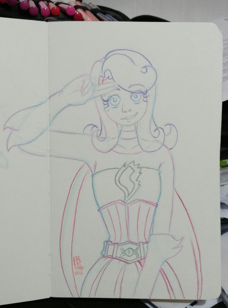 Shezow - Victory pose WIP by Tsukiko-chan