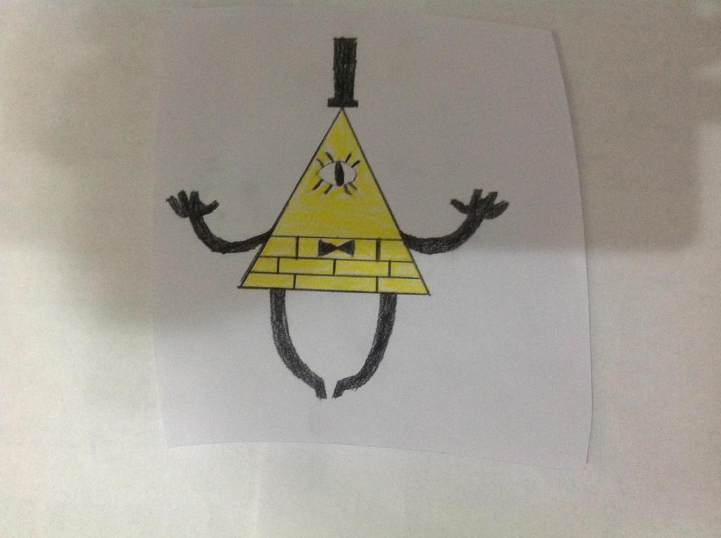 Bill Cipher by Germanantasma