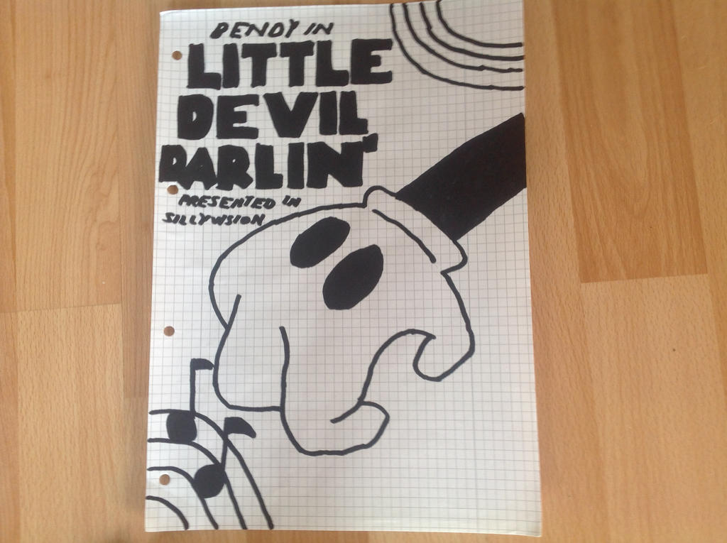 Bendy in: Little Devil Darlin' poster by Germanantasma