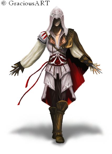 Female Assassins Creed By Gracesayos On Deviantart