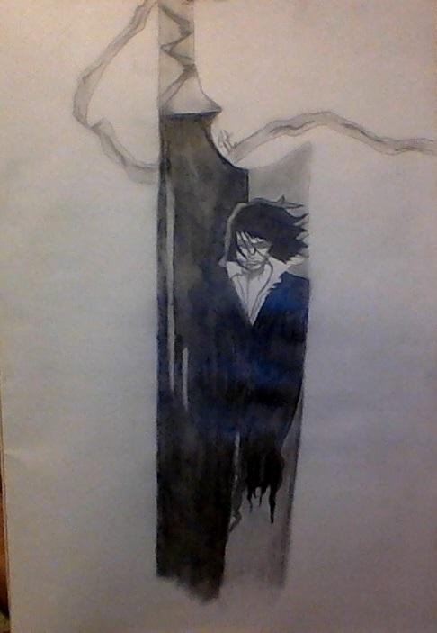 Zangetsu Soul Eater Drawing Thing by bbmason