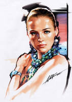 Female Portrait by cklum