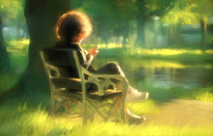 Morning Garden2 by cklum