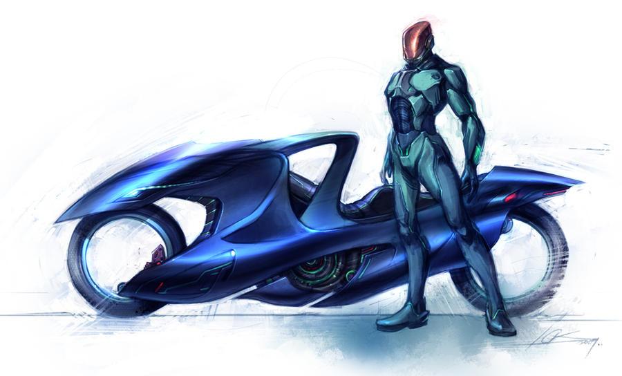 concept super bike by cklum