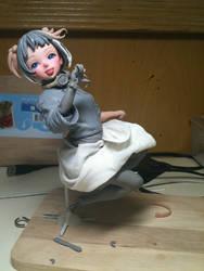 Kawashiro NItori figure (WIP) 2 by Keng1308