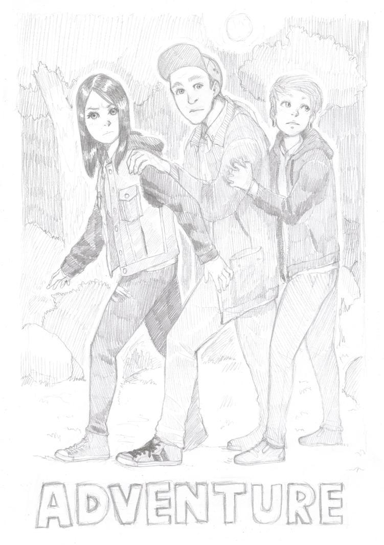 Adventuring Friends by Zankurova
