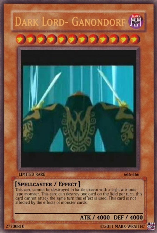 ganondorf yu gi oh card killer by marx wraith7 on deviantart