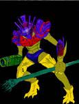 Chozo in Armor by Marx-Wraith7