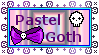 Patsel Goth Stamp by MoonSweetMisfit