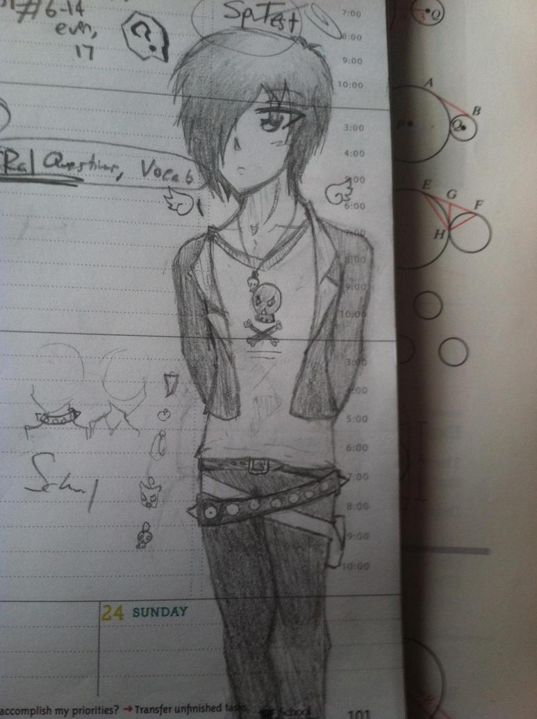 My New Original Character by KuroKittyy