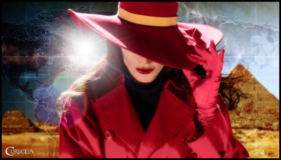 Carmen Sandiego Photo Shoot by CORSIGLIA on DeviantArt