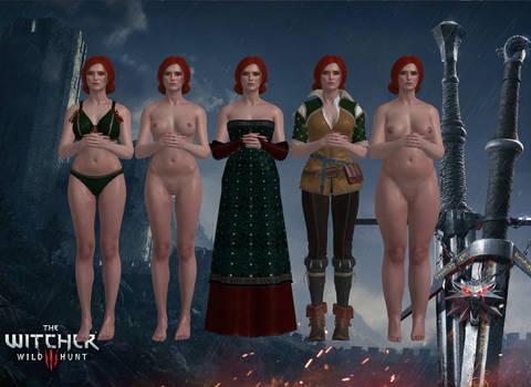 (18+) Customizable Triss Merigold (XPS) by dawadd